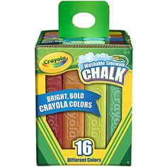 Crayola 16 Count Sidewalk Chalk Crayola http://www.amazon.com/dp/B00AHAJGYO/ref=cm_sw_r_pi_dp_YmXtwb0X344HF