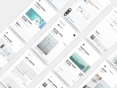 Dead End - UI Kits - Ideas of UI Kits - Dairy: A free Sketch UI kit for minimal apps UI Kits Ideas of UI Kits Dairy is a new Sketch UI kit that you can use for inspiration when you need to get started with a minimal and clean photography app concept. Web Design, App Ui Design, User Interface Design, Book Design, Cover Design, Layout Design, Application Ui Design, Ui Kit