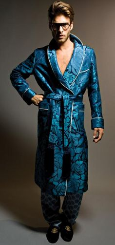 Tom Ford Never seen a man look that good in a bathrobe