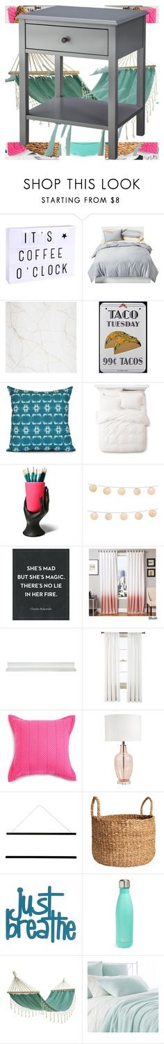 """""""Untitled #1989"""" by bucketlistdiary on Polyvore featuring interior, interiors, interior design, home, home decor, interior decorating, A Little Lovely Company, Room Essentials, Augusta and e by design"""