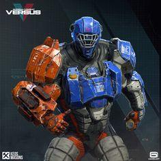 ArtStation - Modern Combat Versus New Character - Gameloft, KEOS MASONS - Marco Plouffe