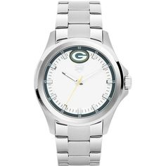 Men's Green Bay Packers Jack Mason Brand Legacy Stainless Steel 3 Hand Watch, Your Price: $134.99 --- Keep track of the time and display your Green Bay Packers pride when you put on this Green Bay Packers Legacy Stainless Steel 3 Hand watch from Jack Mason Brand. This is a great watch for you to showcase your exceptional and steadfast Green Bay Packers loyalty.