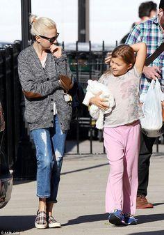 Matilda with her mummy