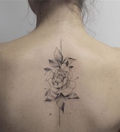 Fun, creative, rebellious, many people love getting tattoos and use them as a platform for self-expression. Tattoos can be satisfying both physically while looking at them and mentally when you con… Mid Back Tattoos, Floral Back Tattoos, Flower Spine Tattoos, Back Tattoos Spine, Small Tattoos On Back, Back Tattoo Women Spine, Star Tattoos, New Tattoos, Girl Tattoos