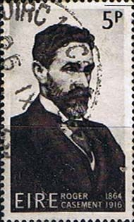 Postage Stamps of Eire Ireland 1966 Roger Casement SG 221 Fine Used Scott 214 Other European and British Commonwealth Stamps HERE! Roger Casement, Roisin Dubh, Irish Flute, Michael Collins, Irish Culture, Dublin Ireland, Commonwealth, Stamp Collecting, Folklore