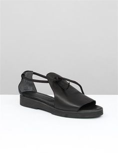 Creatures of Comfort Lee Sandals - Black