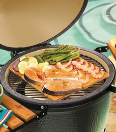 A list of recipes to use with the Big Green Egg