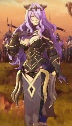 Fire Emblem Fates/ If- Camilla(Nohr) Fire Emblem Characters, Fantasy Characters, Anime Fantasy, Fantasy Girl, Fire Emblem Fates Camilla, Character Art, Character Design, Video Games Girls, Dragon Knight