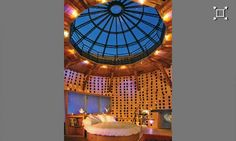 Chateau de Vallery - the most amazing bridal suite I have seen.