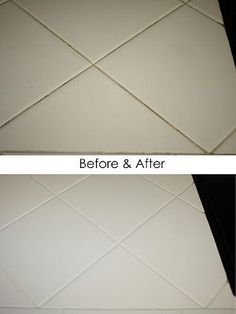 The Easiest Way Ever To Clean Tile Grout!