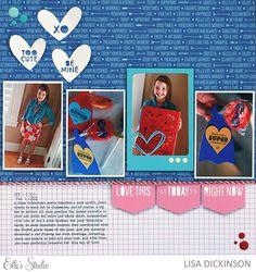 Lisa Dickinson is using Elle's Studio cut files in this fun layout!