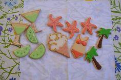 """Galletantas: SUMMER COOKIES  Estas son nuestras """"summer cookies..."""