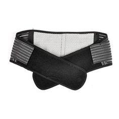 Pixnor Portable réglable infrarouge auto-échauffement magnétothérapie taille arrière Support orthèse lombaire ceinture Pull Double sangle…
