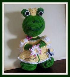 grenouille princesse