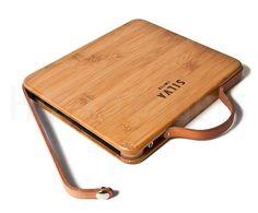 Super luxe Bamboe Houten iPad case / koffer