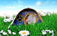 Hobbit hole.   children friendly garden design ideas - Google Search