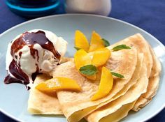 Enjoy a French moment right in your own home by whipping up these delectable crepes.