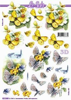 Nieuw bij Knutselparade: 0344 Le Suh knipvel vlinders/bloemen 8215 699 https://knutselparade.nl/nl/bloemen/698-0344-le-suh-knipvel-vlinders-bloemen-8215-699.html   Knipvellen, Bloemen  -  Le Suh
