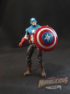 01 ULTIMATES CAPTAIN AMERICA  /// Marvelicious Toys - The Marvel Universe Toy & Collectibles Podcast