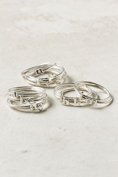 Indian Bridesmaid Gift Ideas: Rings via IndianWeddingSite.com