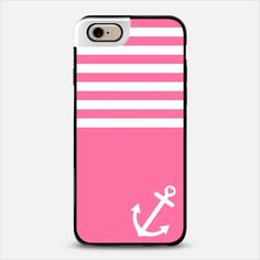 Pink Love Anchor Nautical iPhone 6 Metaluxe case by Organic Saturation | Casetify Get $10 off using code: 53ZPEA