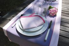 table-d'été-jardin-(13) Frou Frou, Blog Couture, Style, Home Made, Sewing, Fabric, Paper Pieced Patterns, La Perla Lingerie, Lineup