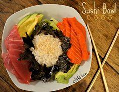 Sushi Bowls {gluten free}