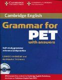 Cambridge English Grammar for PET with Answers : Self-Study Grammar Reference and Practice English Grammar Pdf, English Exam, English Grammar Worksheets, English Book, English Lessons, English Vocabulary, Teaching English, Learn English, Esl Lessons