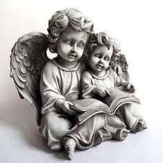 Moeder en Kind Cherubijn Urn (2 liter)