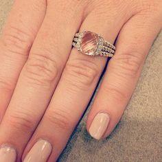 David Yurman 'Wheaton' Petite Ring with Semiprecious Stone & Diamonds   Nordstrom