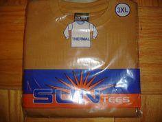 TIMBERLAND UNISEX SIZE 3XL LONG SLEEVE THERMAL SHIRT SUN TEES #SUNTEES #LONGSLEEVETEESHIRT