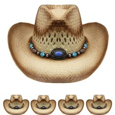 Cowboy Western Hats with your Logo Imprint · CLEARANCE!! COWBOY Western  Shapeable HAT Cap Sun Rodeo Concho MEN WOMEN  Unbranded   3283f64f20cf