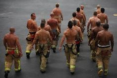 The Go Guide Pinup of the Week: Hot firefighters Hot Firefighters, Firemen, Chaning Tatum, Pump It Up, Men In Uniform, Raining Men, Make Me Smile, Beautiful Men, Beautiful Things