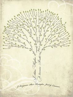 seven generation family tree