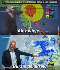 Zanosi się na deszcz Funny As Hell, Wtf Funny, Hilarious, Best Memes, Dankest Memes, Best Frends, Polish Memes, The Witcher Books, Witcher Art