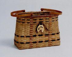 Jan Treesh - basket with horse head