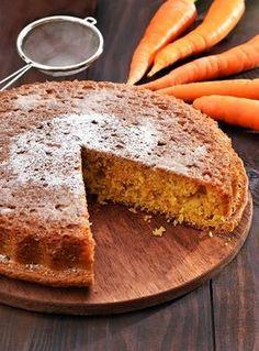 Torta vegana carote, zenzero e cannella