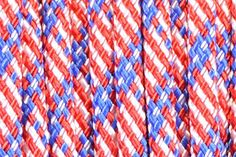BoredParacord Brand 550 lb Stars and Stripes Paracord 50 feet ** More info could be found at the image url.