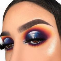 Ideas Makeup Looks James Charles Palette - Ideas Makeup Looks James Charles Palette - make up james charles Cute Eye Makeup, Makeup Eye Looks, Colorful Eye Makeup, Eyeshadow Looks, Eyeshadow Makeup, Beauty Makeup, Halloween Face Makeup, Eyeshadows, Halloween Makeup Artist