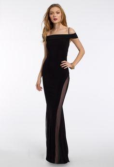 Off the Shoulder Lace Up Back Dress