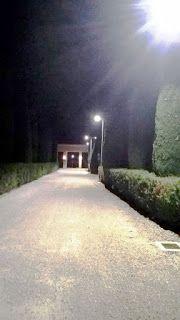 massignanonews: Nuova illuminazione pubblica a led al cimitero