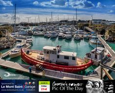 Nice morning for a stroll round what started life many moons ago as a quarry & nowadays is Beaucette Marina. #LoveGuernsey  http://chrisgeorgephotography.dphoto.com/#/album/cbc2cr/photo/22252028  Picture Ref: 21_03_14 — in Guernsey.