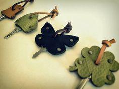 キーケース(抜き型でつくる小物)/神戸電子専門学校インダストリアルデザイン学科学生作品