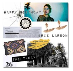 """Happy Birthday Brie Larson!"" by bellaeve ❤ liked on Polyvore featuring moda"