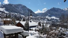 Photograph gallery of the luxury ski chalet, La Grange au Merle, by Clarian Chalets. Includes views over the charming ski resort village of Chatel. Alpine Chalet, Ski Chalet, Family Ski Holidays, Professional Chef, Summer Months, Summer Activities, Mountain Biking, Great Places, Skiing