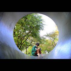 最近無加工でもいいなって思える写真が増えてきたなー もっとうまくなりたいー #京都 #トンネル #秋 #蹴上 #緑 #japan #kyoto #green #autumn #fall #nikontop #nikon #d7000 #landscape #写真好きな人と繋がりたい #ファインダー越しの私の世界 #ニコン倶楽部  早くこの友達が長いトンネルから抜け出せるといいなと思ってます 元気になってください 面と向かっては言わないけど (by yama3534)