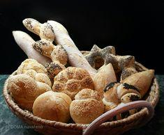 DOMA navařeno: Kváskové pečivo a způsob zpracování těsta Bakery, Stuffed Mushrooms, Bread, Vegetables, Food, Europe, Stuff Mushrooms, Brot, Essen