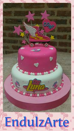 "Tortas""Soy Luna"""