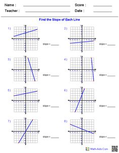 Worksheets Writing Linear Equations Worksheet writing linear equations worksheets math aids com pinterest generate endless on slope various forms of graphing a line inequalities