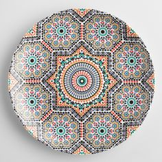 Fez Moroccan Tile Salad Plates Set of 4